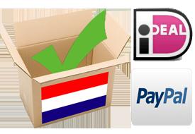 Nederlandse Doos IDEAL en Paypall