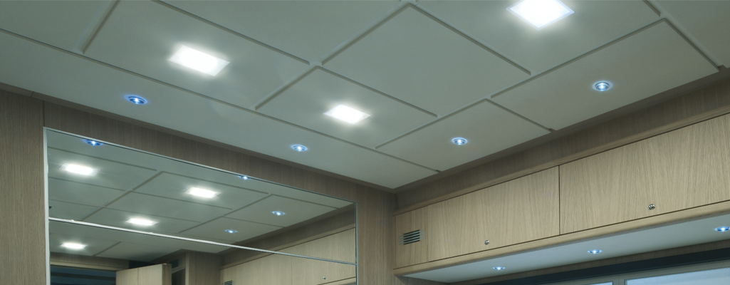 camper wand plafond led verlichting