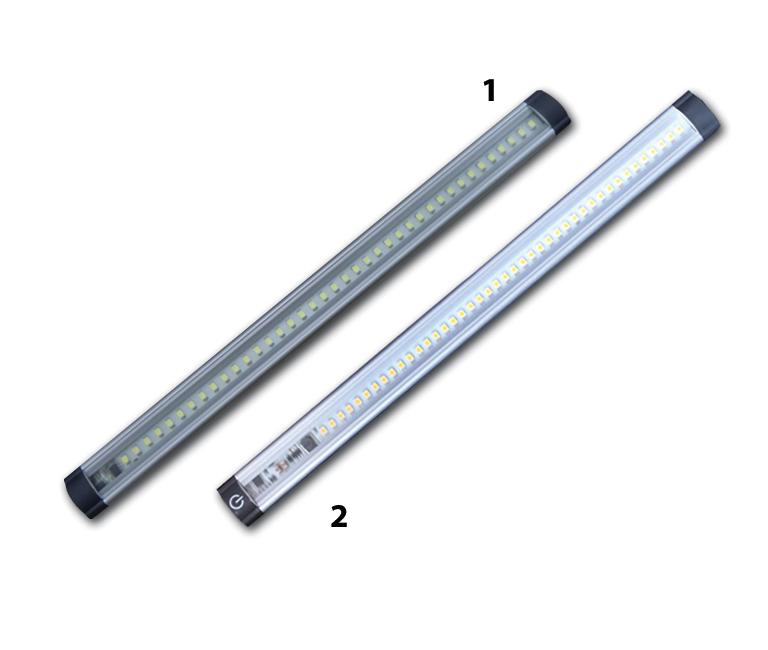 led bar aluminium traploos extern dimbaar